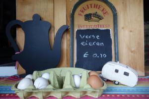Lekkere verse eieren te koop!